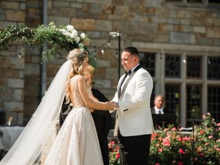 The wedding of Alex and Kerri 1