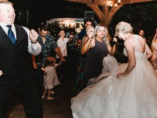 The wedding of Brittany and A.J. 1