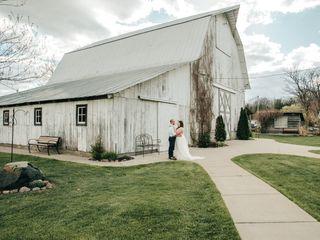 The wedding of Eli and Tyler