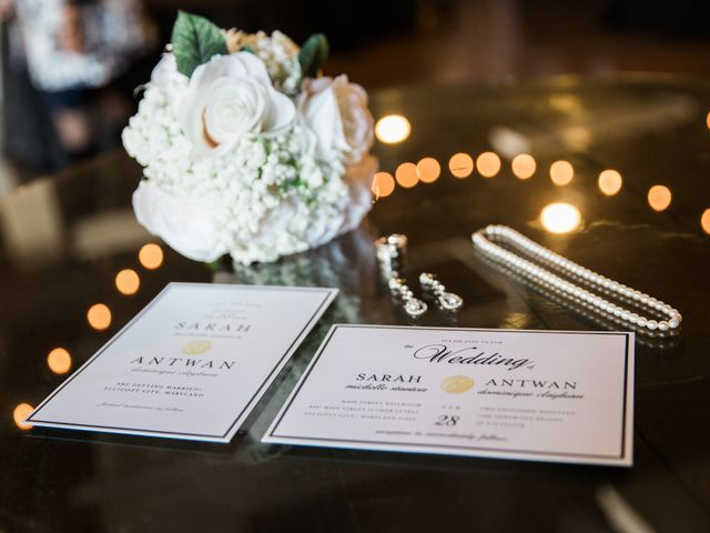 Antwan and Sarah's Wedding in Ellicott City, Maryland 1