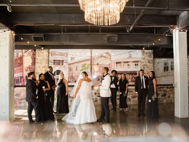 Antwan and Sarah's Wedding in Ellicott City, Maryland 33