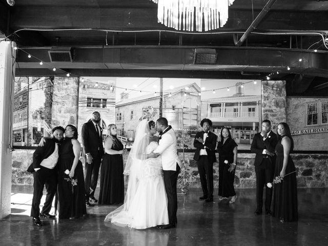Antwan and Sarah's Wedding in Ellicott City, Maryland 34