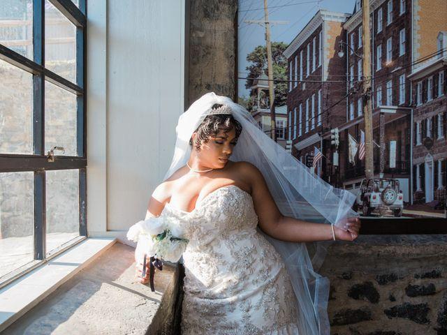 Antwan and Sarah's Wedding in Ellicott City, Maryland 41