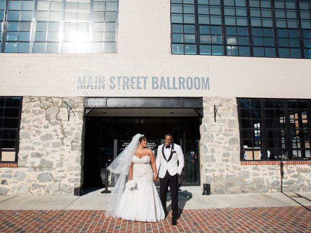 Antwan and Sarah's Wedding in Ellicott City, Maryland 47