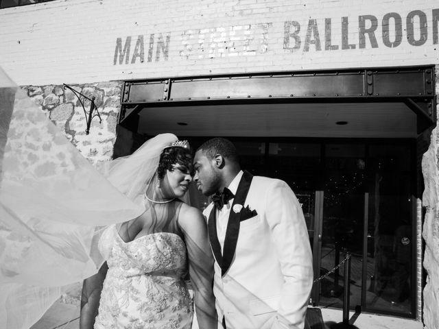 Antwan and Sarah's Wedding in Ellicott City, Maryland 48