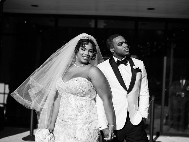 Antwan and Sarah's Wedding in Ellicott City, Maryland 52