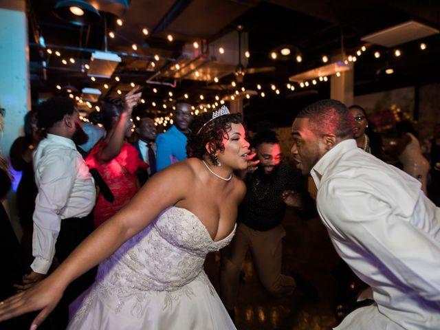 Antwan and Sarah's Wedding in Ellicott City, Maryland 73