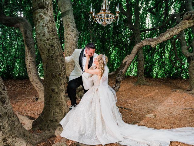 The wedding of Alex and Kerri