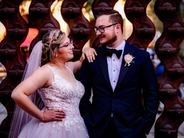 The wedding of Eric and Marianna