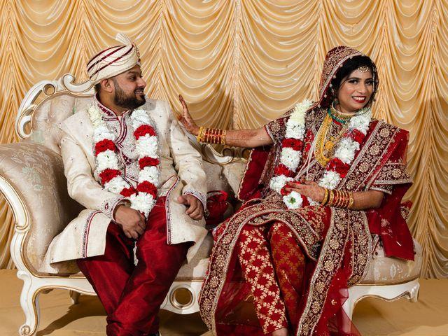 The wedding of Nimra and Lateef