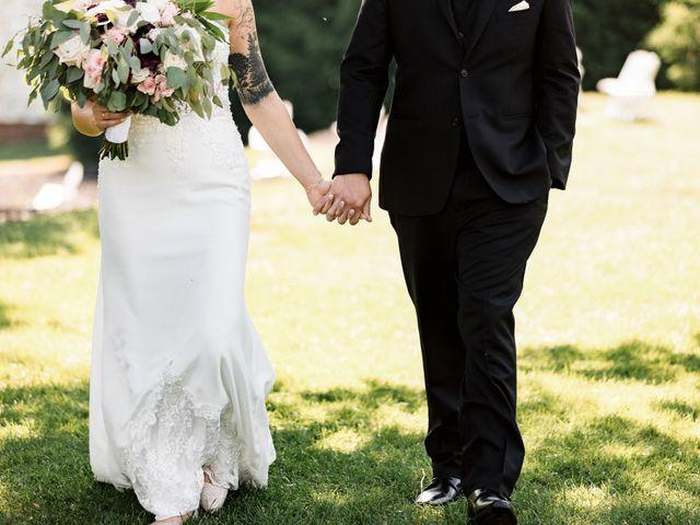 Allison and Brandon's Wedding in Buffalo, New York 46