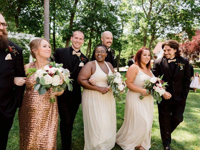 Allison and Brandon's Wedding in Buffalo, New York 80