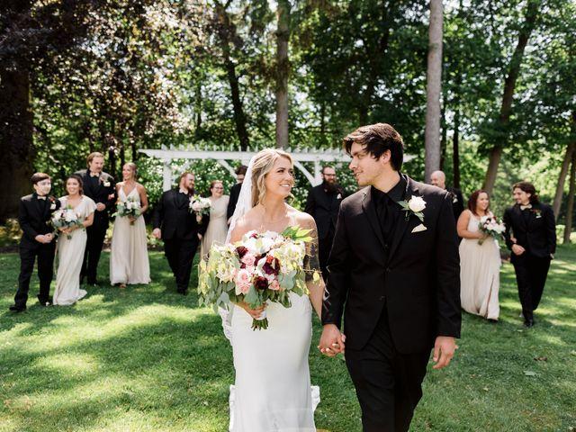 Allison and Brandon's Wedding in Buffalo, New York 81