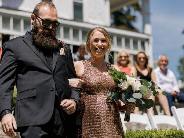 Allison and Brandon's Wedding in Buffalo, New York 110