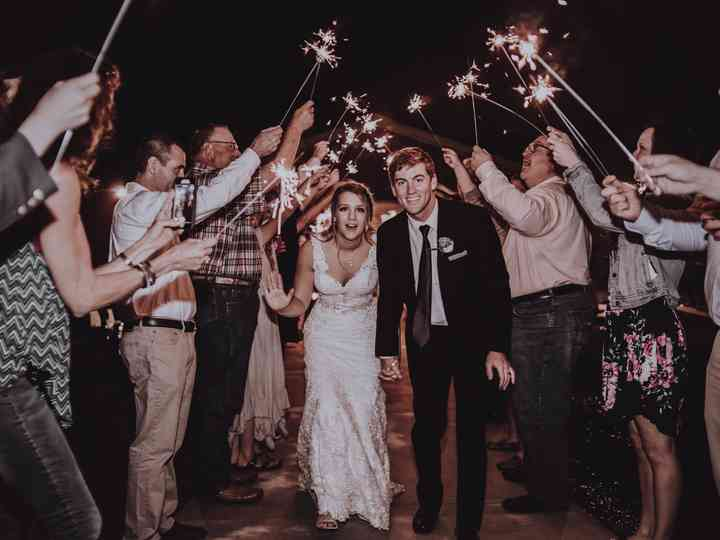 The wedding of Baylee and Tate
