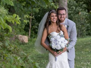 The wedding of Megan and Justin