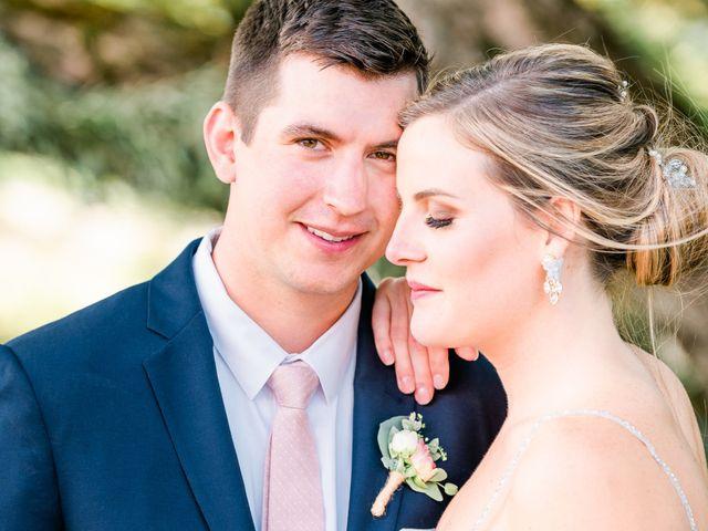 The wedding of Danielle and Matt