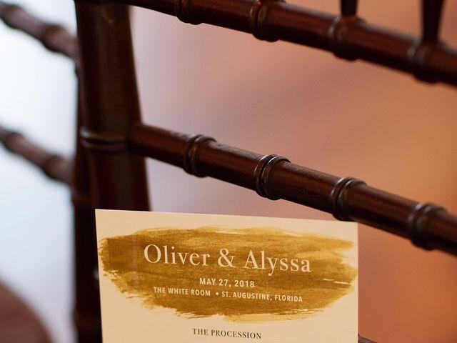 Oliver and Alyssa's Wedding in Saint Augustine, Florida 50