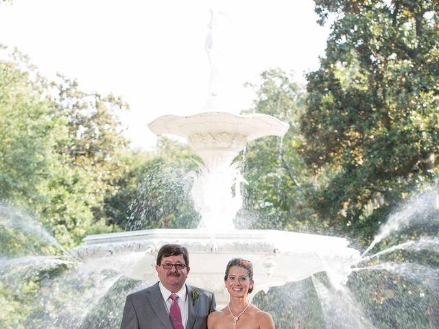 Melissa and Brent's Wedding in Savannah, Georgia 35