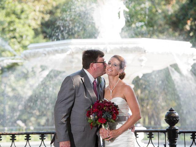 Melissa and Brent's Wedding in Savannah, Georgia 36
