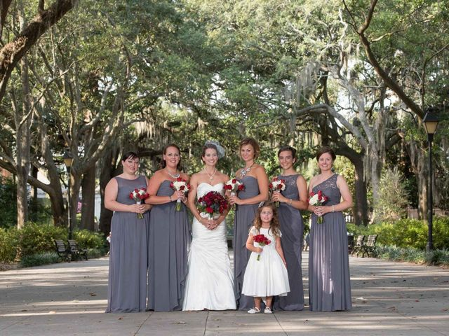 Melissa and Brent's Wedding in Savannah, Georgia 37