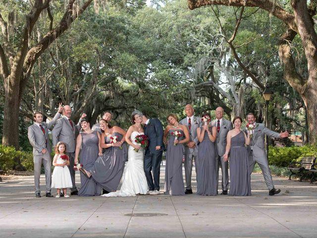 Melissa and Brent's Wedding in Savannah, Georgia 38