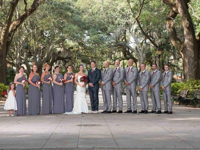 Melissa and Brent's Wedding in Savannah, Georgia 39