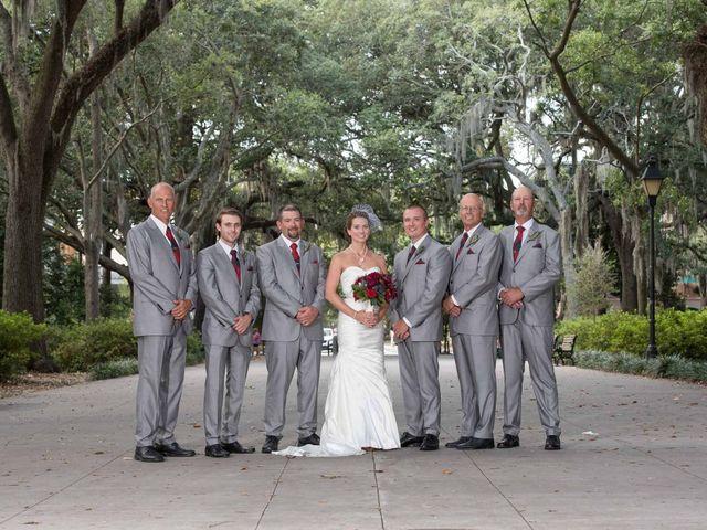 Melissa and Brent's Wedding in Savannah, Georgia 40