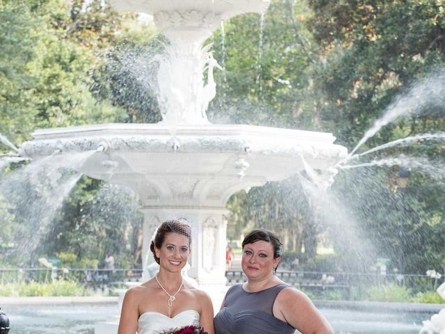 Melissa and Brent's Wedding in Savannah, Georgia 41