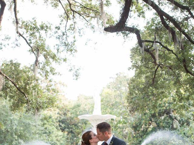 Melissa and Brent's Wedding in Savannah, Georgia 42