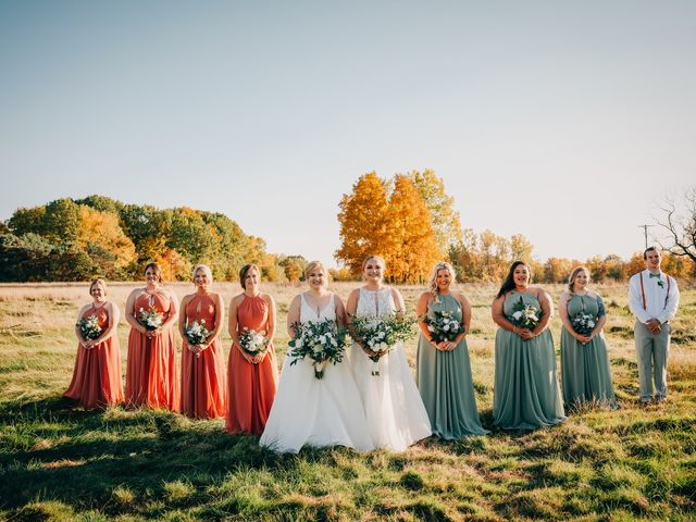 Becca and Leslie's Wedding in Grand Rapids, Michigan 1