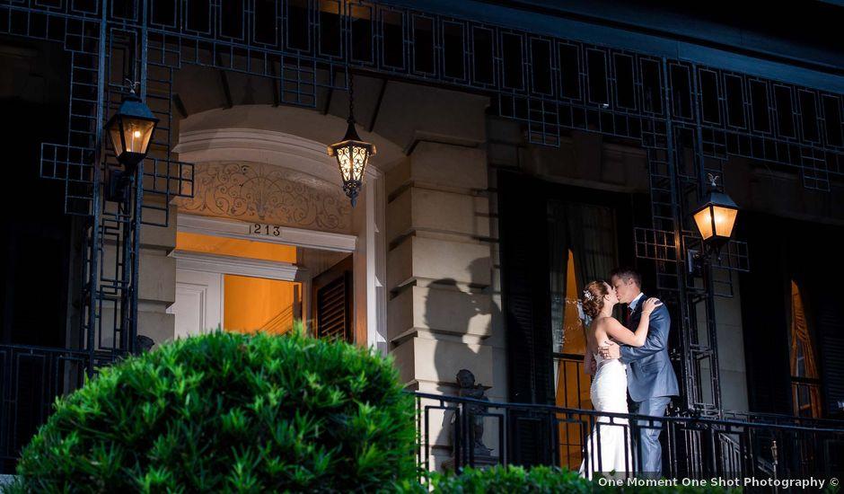 Melissa and Brent's Wedding in Savannah, Georgia