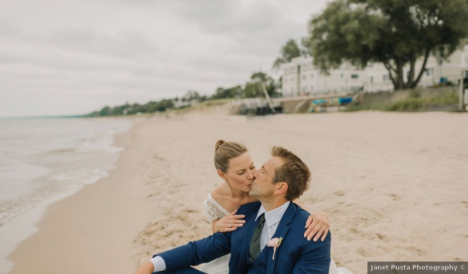 Kelly and Blake's Wedding in South Haven, Michigan