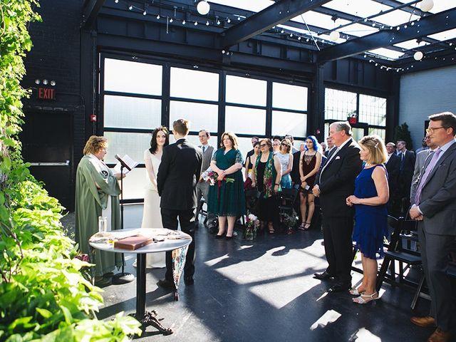 Alex and Alison's Wedding in Brooklyn, New York 19