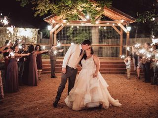 The wedding of Timothy and Rikki