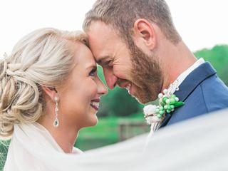 The wedding of Destiny and Brett