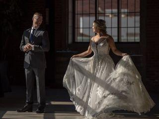 The wedding of Natalie and Jon 1