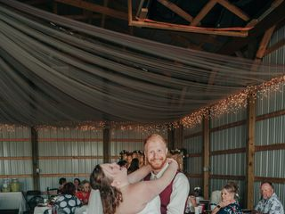 The wedding of Amy and Brett 1