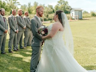 The wedding of Amy and Brett 2