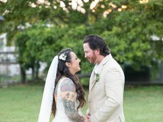 The wedding of Christie and Brandon 1