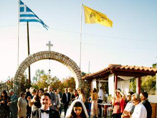 Sophia and Arden's wedding in Greece 11
