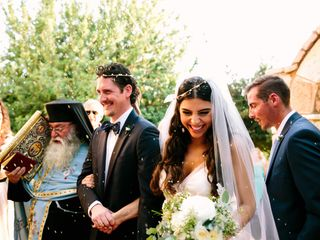 Sophia and Arden's wedding in Greece 13