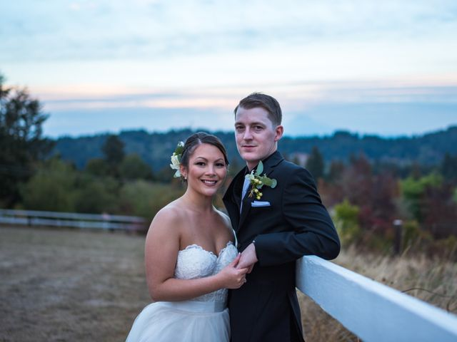 The wedding of Marissa and Tyler
