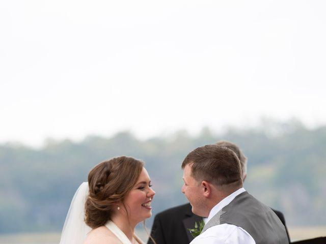 Josh and Bryton's Wedding in Heathsville, Virginia 66