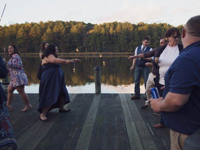 Josh and Bryton's Wedding in Heathsville, Virginia 157