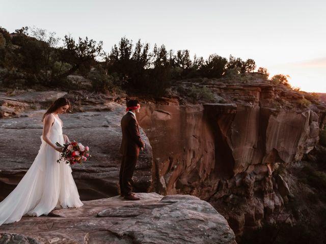 David  and Rebekah 's Wedding in Canyon, Texas 5