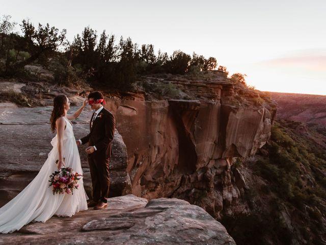 David  and Rebekah 's Wedding in Canyon, Texas 6