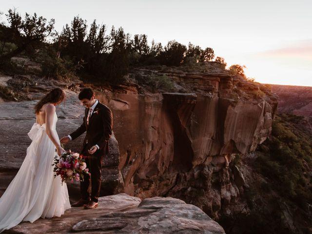 David  and Rebekah 's Wedding in Canyon, Texas 7
