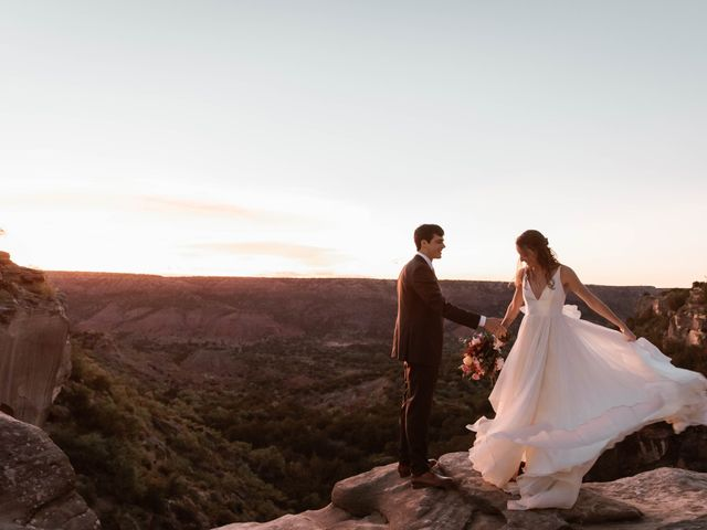 David  and Rebekah 's Wedding in Canyon, Texas 9