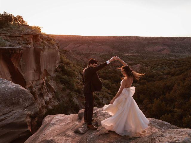 David  and Rebekah 's Wedding in Canyon, Texas 10